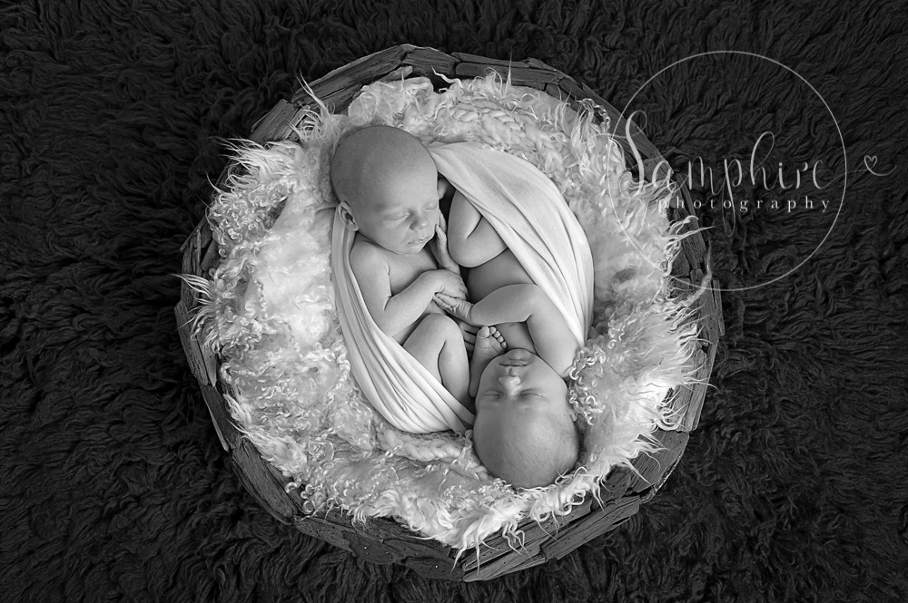 Newborn Portraiture West Sussex Twins