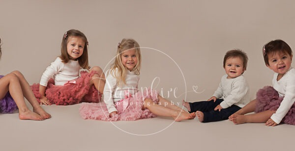 Children's Studio Portraits by Samphire Photography