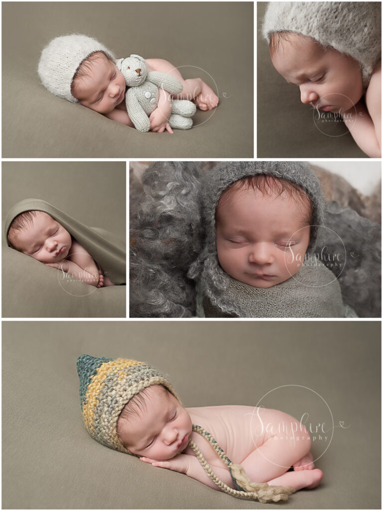 Samphire Photography newborn portraits baby boy haywards heath