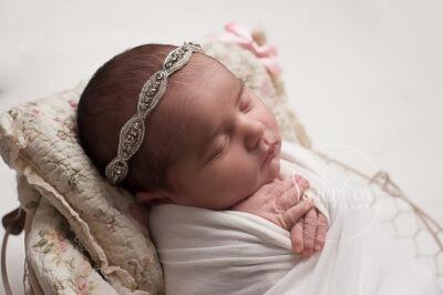 newborn photographer Horsham experienced Samphire rabbit toy studio