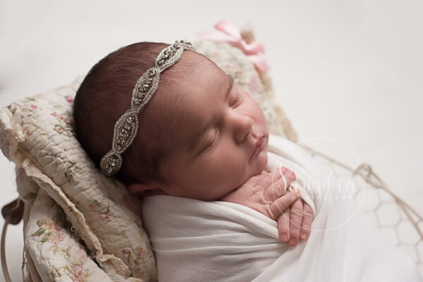 newborn photographer Horsham experienced Samphire rabbit toy studio