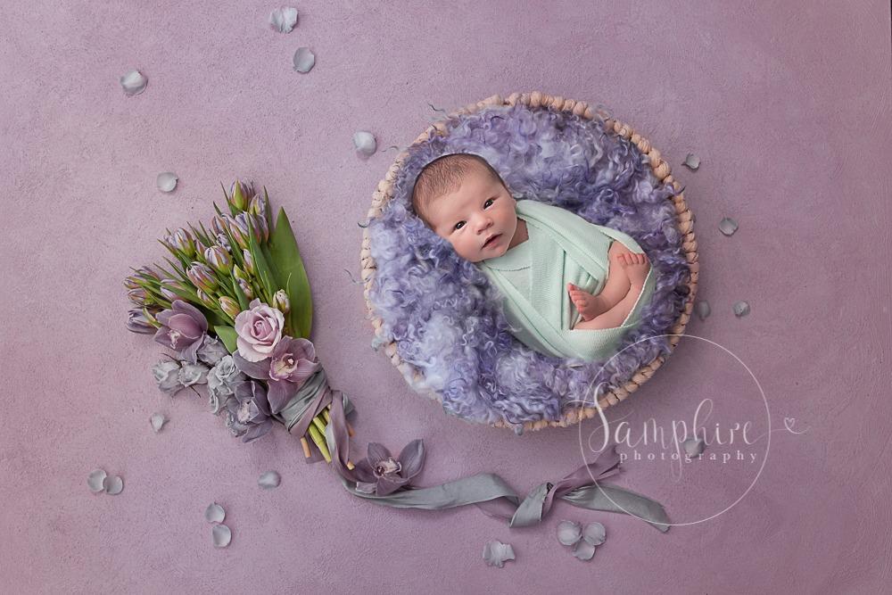 Samphire Photography Newborn Photographer Haywards Heath baby girl expereinced specialist Sussex