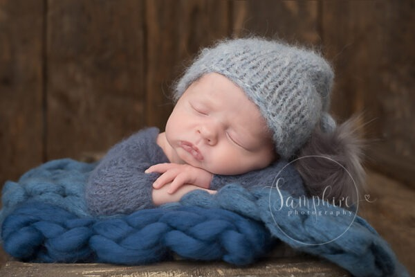 Samphire Photography Billingshurst Newborn Photographer baby boy portrait specialist Sussex sleeping