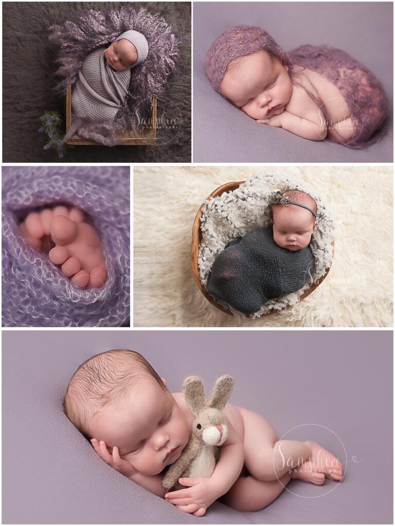 selection of image from newborn photographer horsham Samphire Photography
