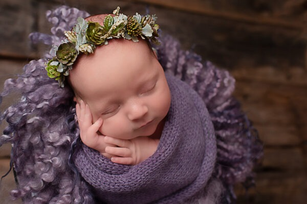 Newborn Photographer West Sussex | Baby Olivia, 13 days old