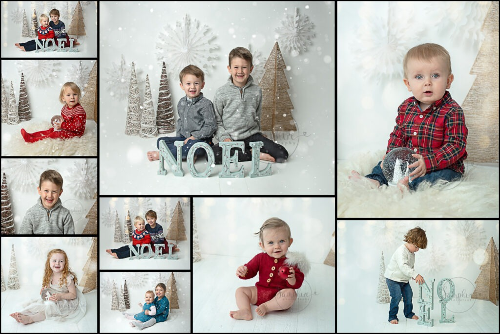 Snowy Christmas Portraits in West Sussex by Samphire Photography
