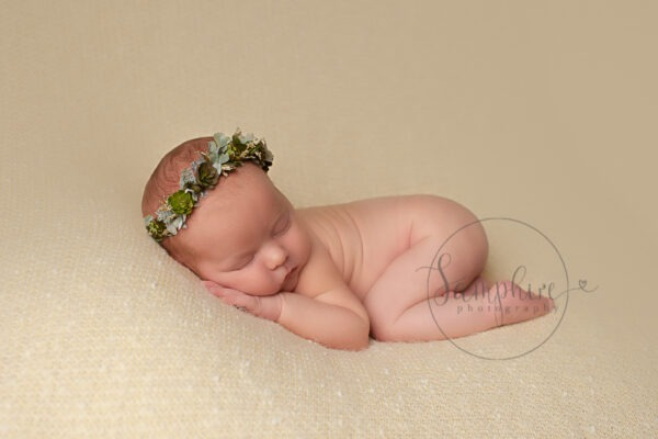Newborn Baby Photographs Sussex | Baby Edith, 18 days old
