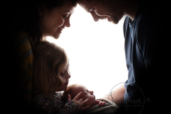 studio family portrait newborn photographer Southwater Samphire Photography
