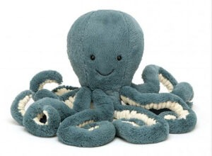 great Christmas gift ideas for newborns 2019 Jellycat octopus Samphire Photography