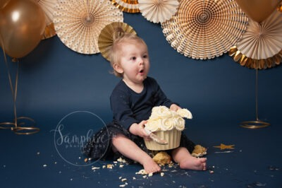 Cake Smash Photographer | Samphire Photography Sussex