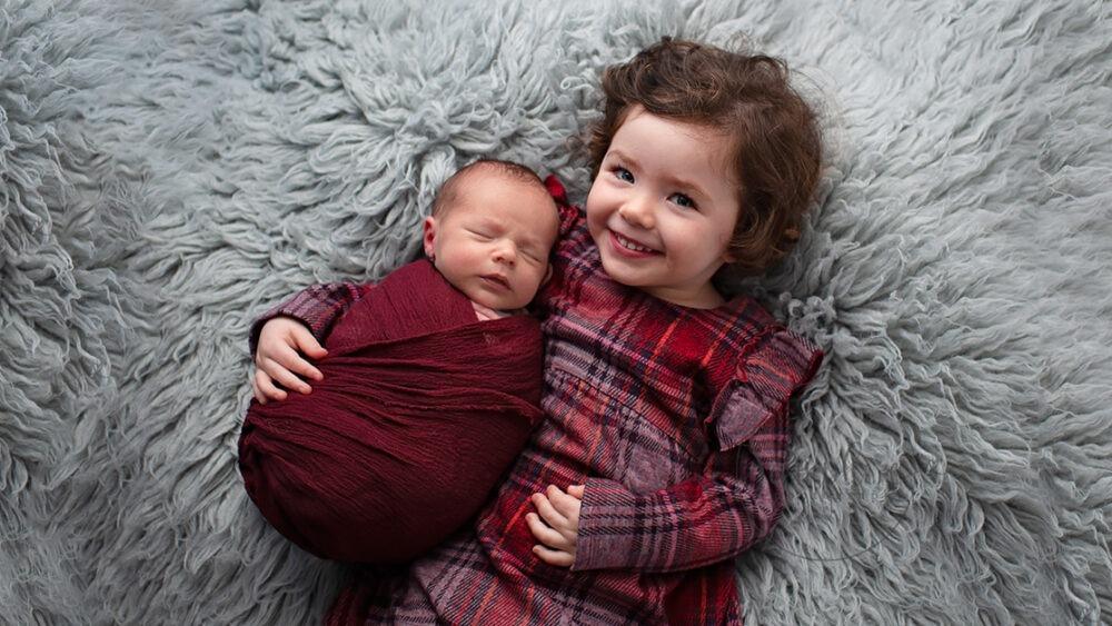 Newborn Photography siblings