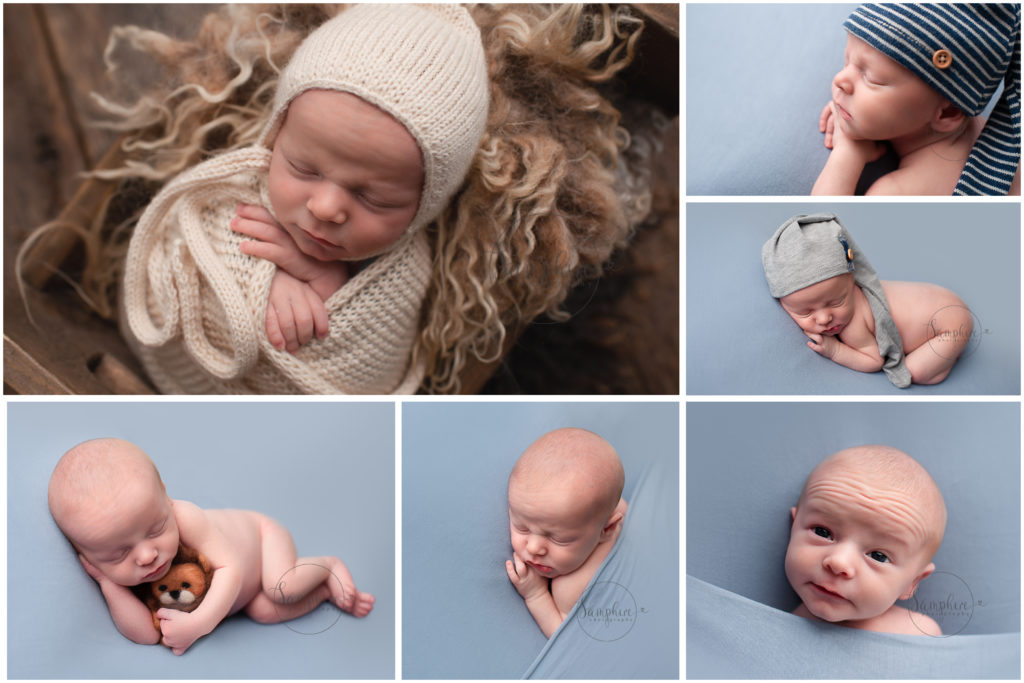 Newborn baby photography boy